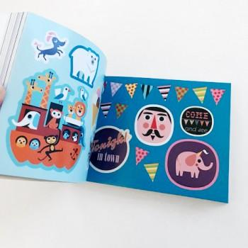 Omm Design Sticker Book