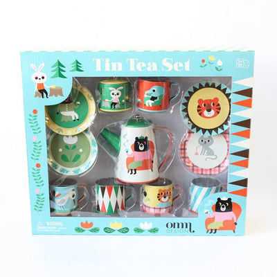 Omm Design Tea Tin Set - Wiggles Piggles  - 2