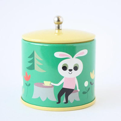 Omm Design Tea Tin Set - Wiggles Piggles  - 8