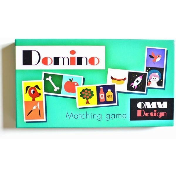 Omm Design Domino Game - Wiggles Piggles  - 1