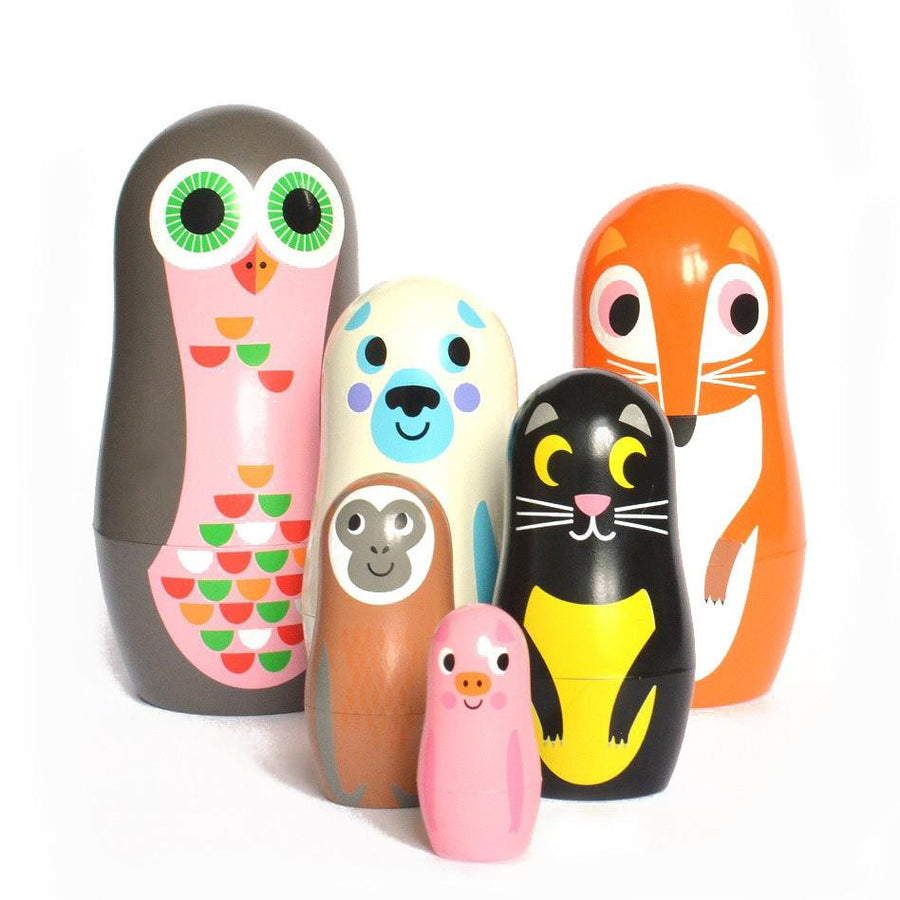 OMM Design Animal Nesting Dolls - Series 2
