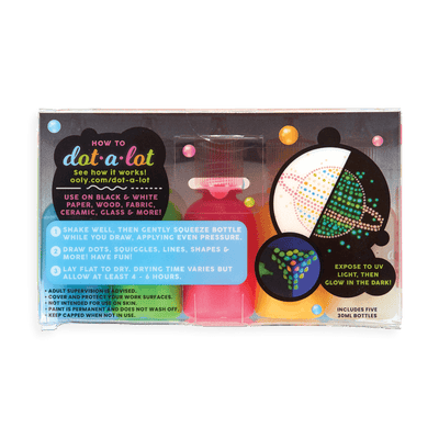 Ooly Glow In The Dark Dot-A-Lot Craft Paint