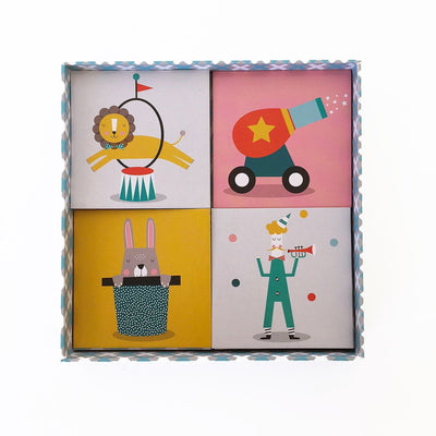 Paper and Pickles Circus Memory Game - Wiggles Piggles  - 3