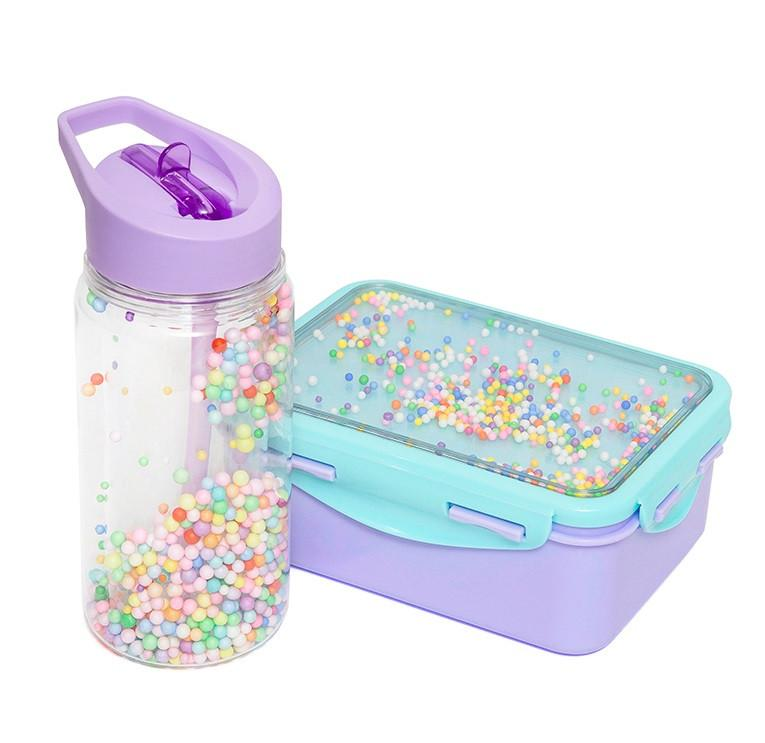 Petit Monkey Popsicles Drink Bottle (Lilac)