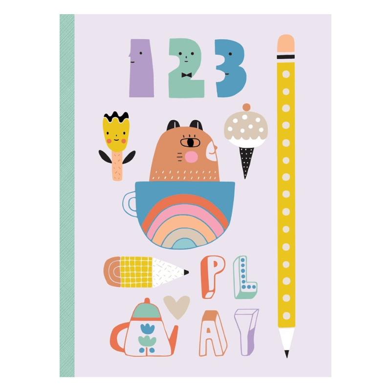 Petit Monkey Notebook (Tea-TIme)