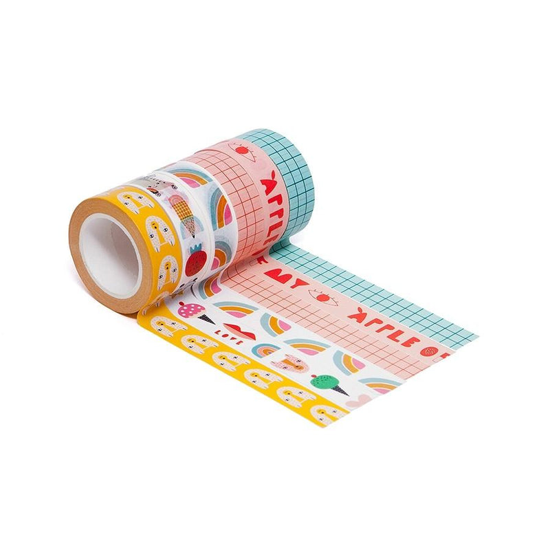 Petit Monkey Washi Tape (Apple of my Eye)