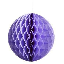 Honeycomb Tissue Ball - Lavender - Wiggles Piggles
