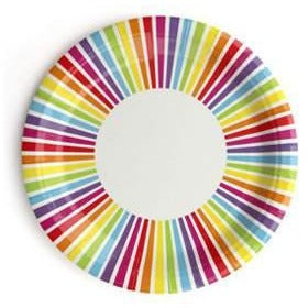 Rainbow Paper Plates - Wiggles Piggles  - 1