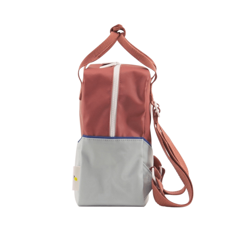 Sticky Lemon Backpack - Red/Powder Blue