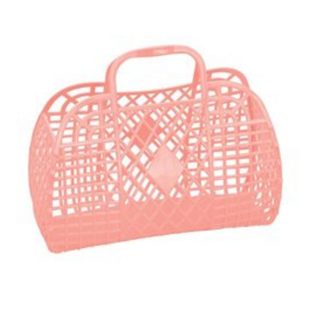 Sun Jellies Peach Basket (Large) - PREORDER