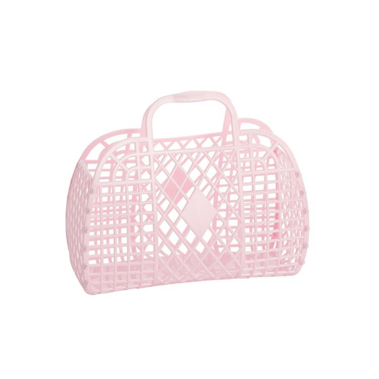 Sun Jellies Light Pink Basket (Small)