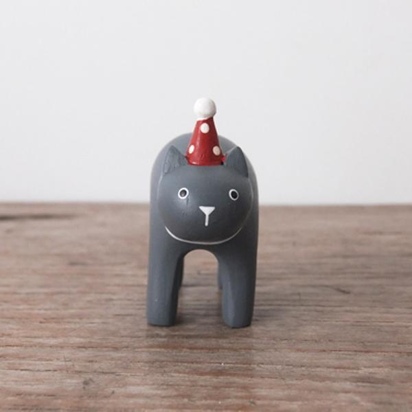 T-Lab Christmas Pole Pole Black Cat