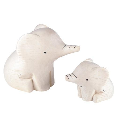 T-Lab Pole Pole Elephant Pair
