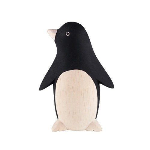 T-Lab Pole Pole Wood Penguin - Wiggles Piggles