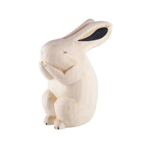 T-Lab Pole Pole Wood Rabbit - Wiggles Piggles