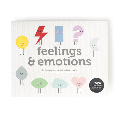 Two Little Ducklings Flash Cards (Feelings & Emotions)