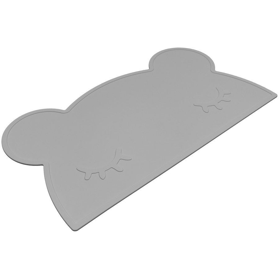 We MIght Be Tiny Bear Placemat Grey - Wiggles Piggles  - 1