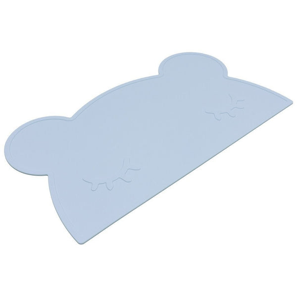 We Might Be Tiny Bear Placemat Powder Blue - Wiggles Piggles  - 1