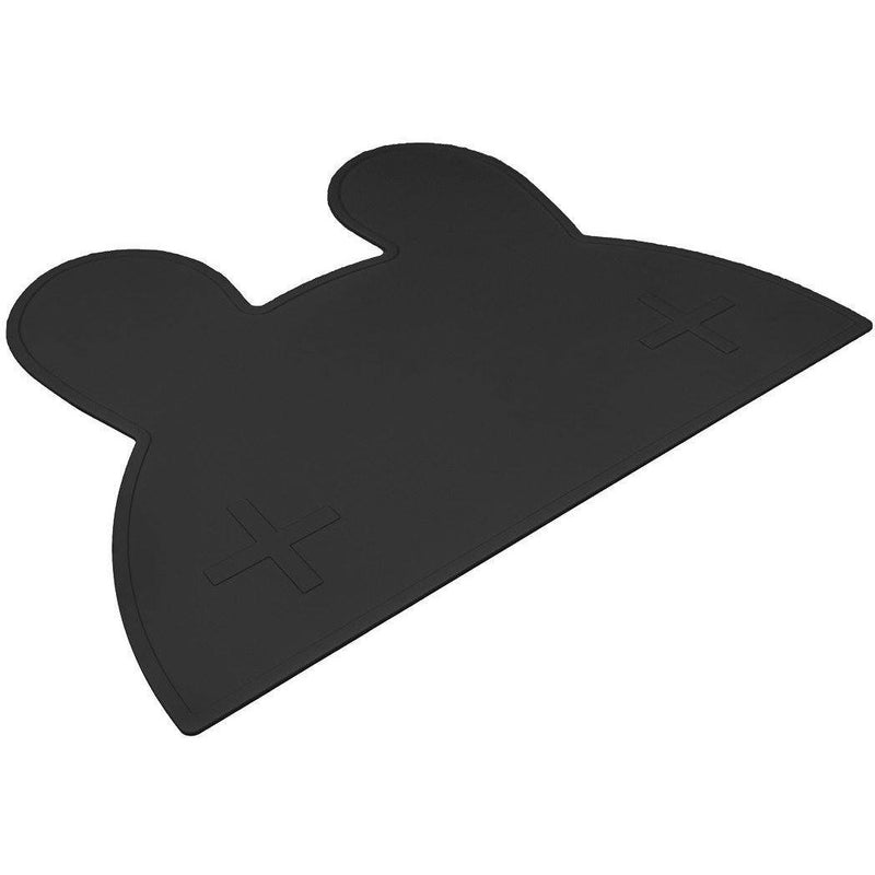 We Might Be Tiny Bunny Placemat Black - Wiggles Piggles  - 1