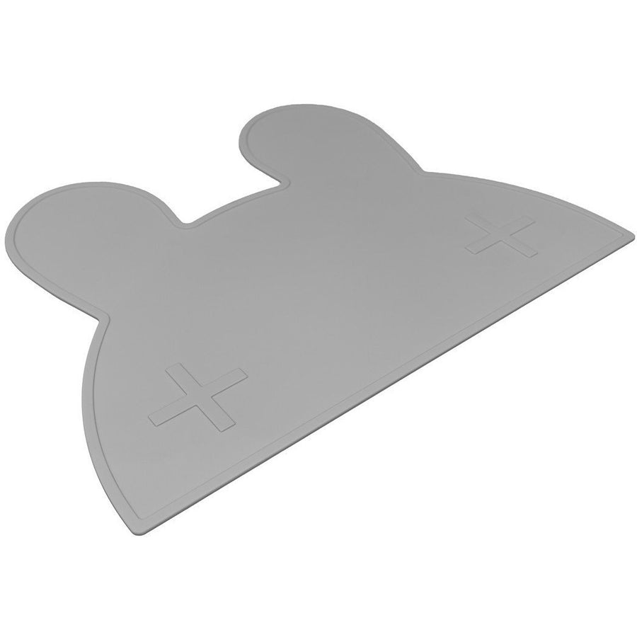 We Might Be Tiny Bunny Placemat Grey - Wiggles Piggles  - 1