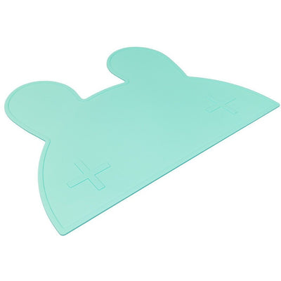 We Might Be TIny Bunny Placemat Mint - Wiggles Piggles  - 2