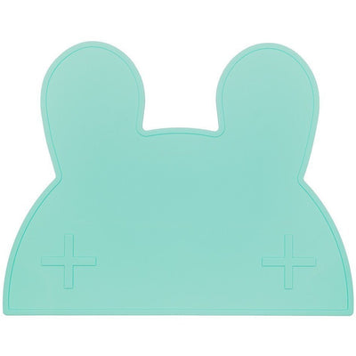 We Might Be TIny Bunny Placemat Mint - Wiggles Piggles  - 1