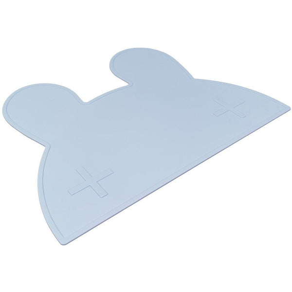 We Might Be Tiny Bunny Placemat Powder Blue - Wiggles Piggles  - 1