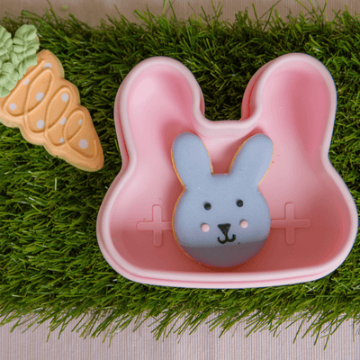 We Might Be Tiny Bunny Snackie - Pink