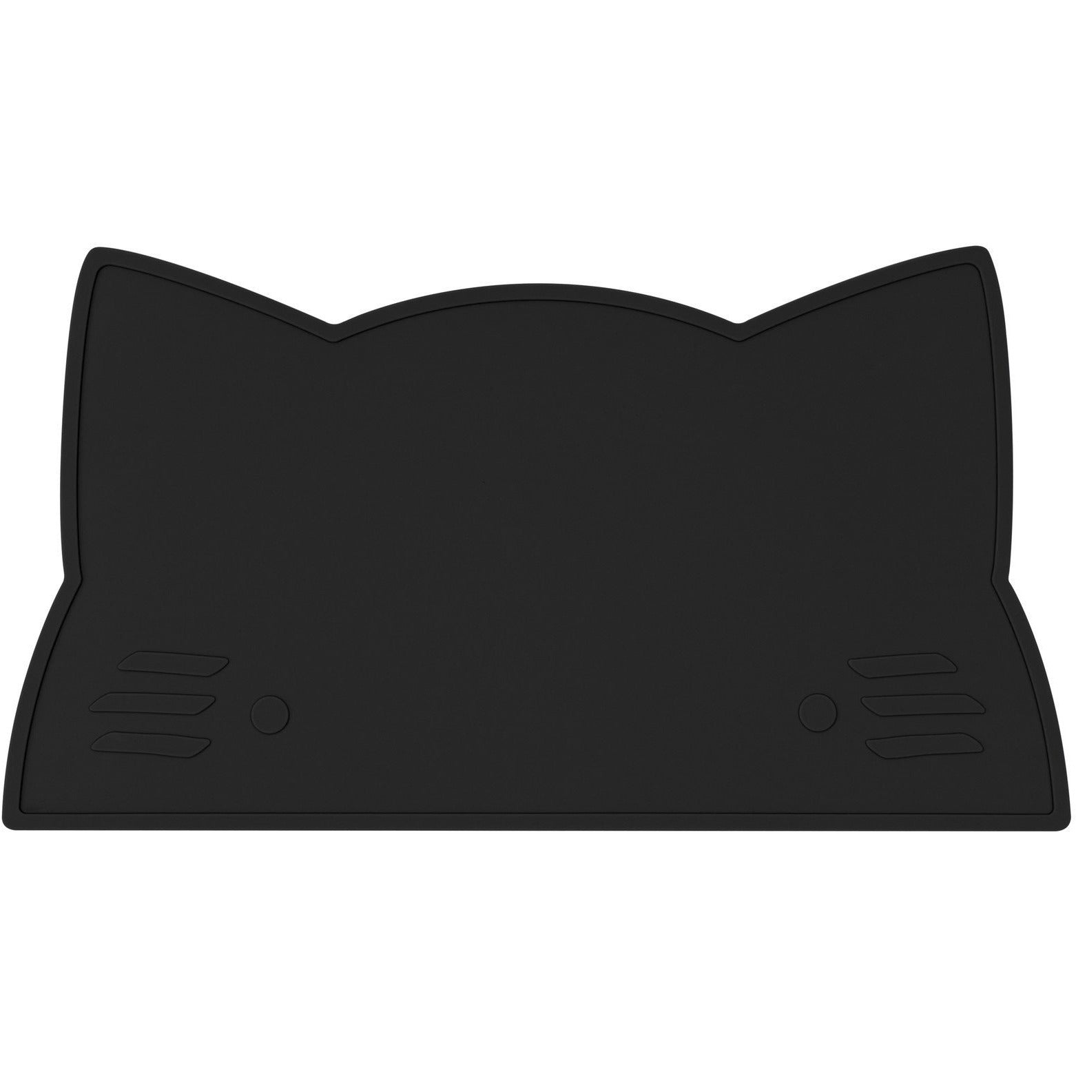 We Might Be Tiny Cat Placemat - Black