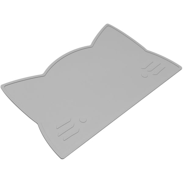 We Might Be Tiny Cat Placemat - Grey