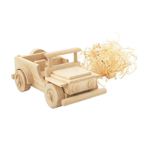 Wooden Jeep - Wiggles Piggles  - 1