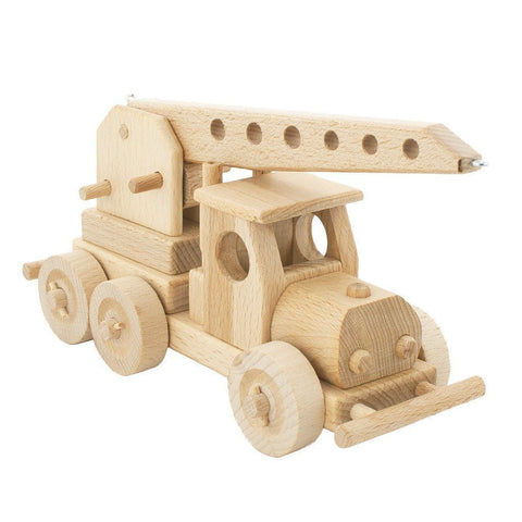 Wooden Tow Truck - Wiggles Piggles  - 1
