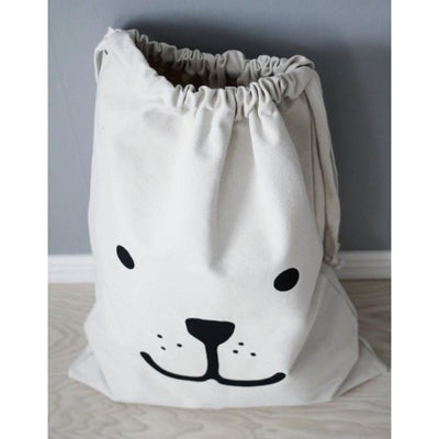 Tellkiddo Bear Fabric Storage Bag - Wiggles Piggles  - 3