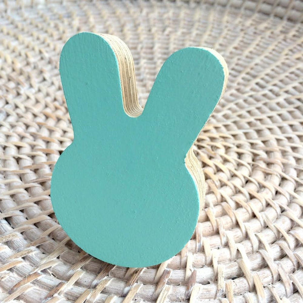 Bunny Wall Hook - Mint - Wiggles Piggles  - 1