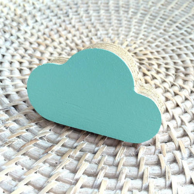 Cloud Wall Hook - Mint - Wiggles Piggles  - 2