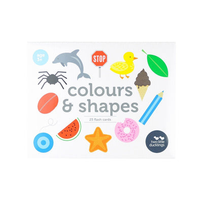Two Little Ducklings Flash Cards (Colours & Shapes)
