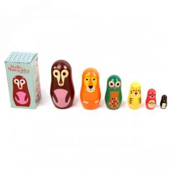 OMM Design Animal Series Nesting Dolls - Series 1 - Wiggles Piggles  - 4