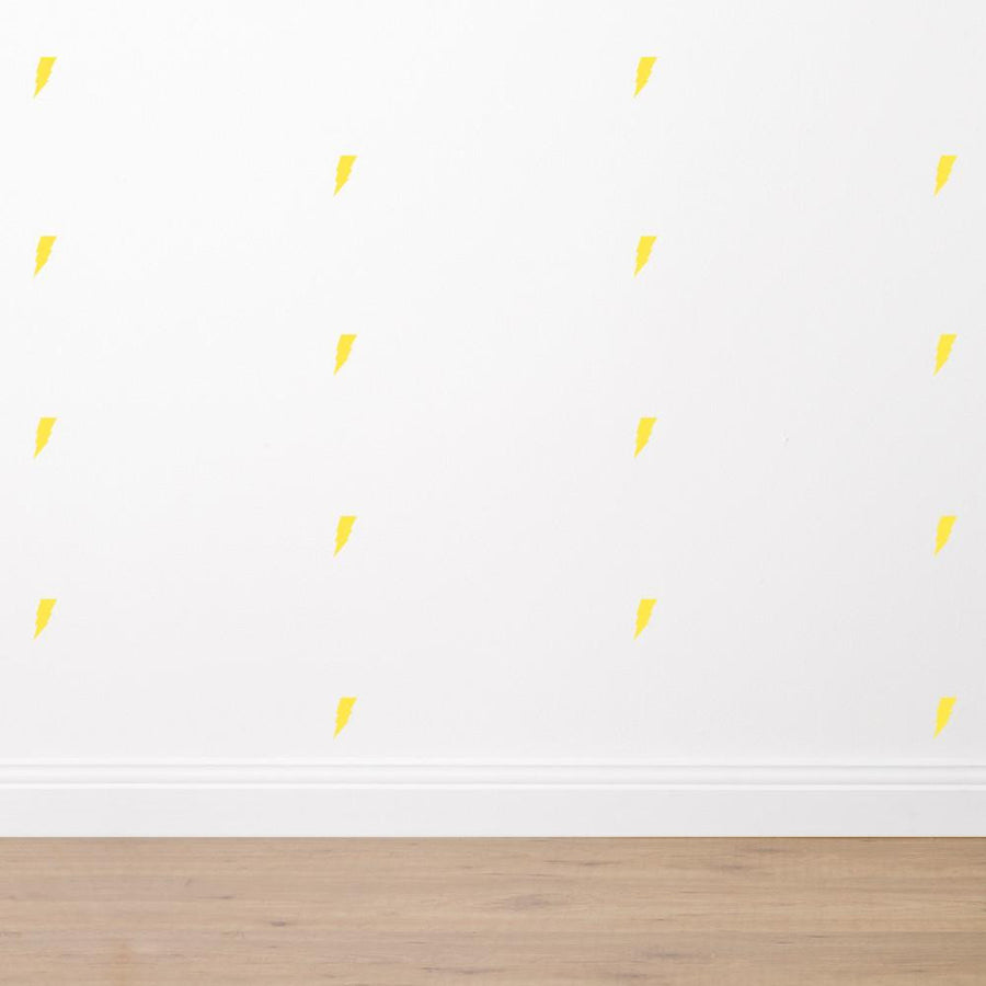 Lightening Bolts - Fabric Wall Sticker Set - Wiggles Piggles  - 1