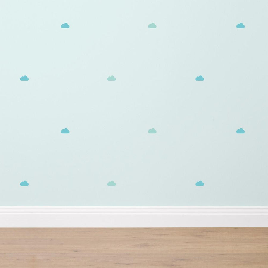 Clouds - Fabric Wall Sticker Set - Wiggles Piggles  - 1