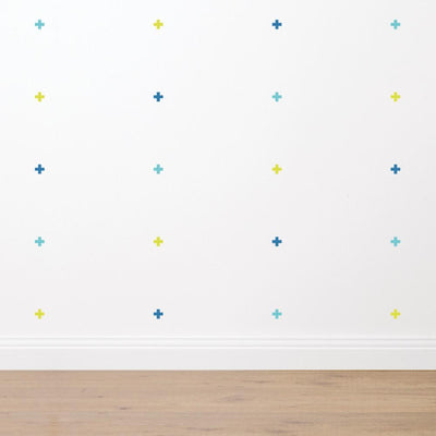 Crosses - Fabric Wall Sticker Set - Wiggles Piggles  - 2