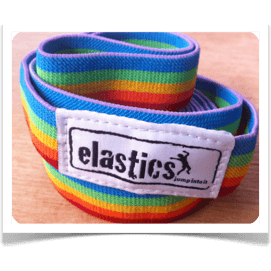 Jump To It Rainbow Elastics - Wiggles Piggles  - 1