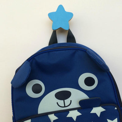 Star Wall Hook - Blue - Wiggles Piggles  - 2