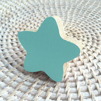 Star Wall Hook - Mint - Wiggles Piggles  - 2