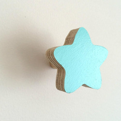 Star Wall Hook - Mint - Wiggles Piggles  - 3