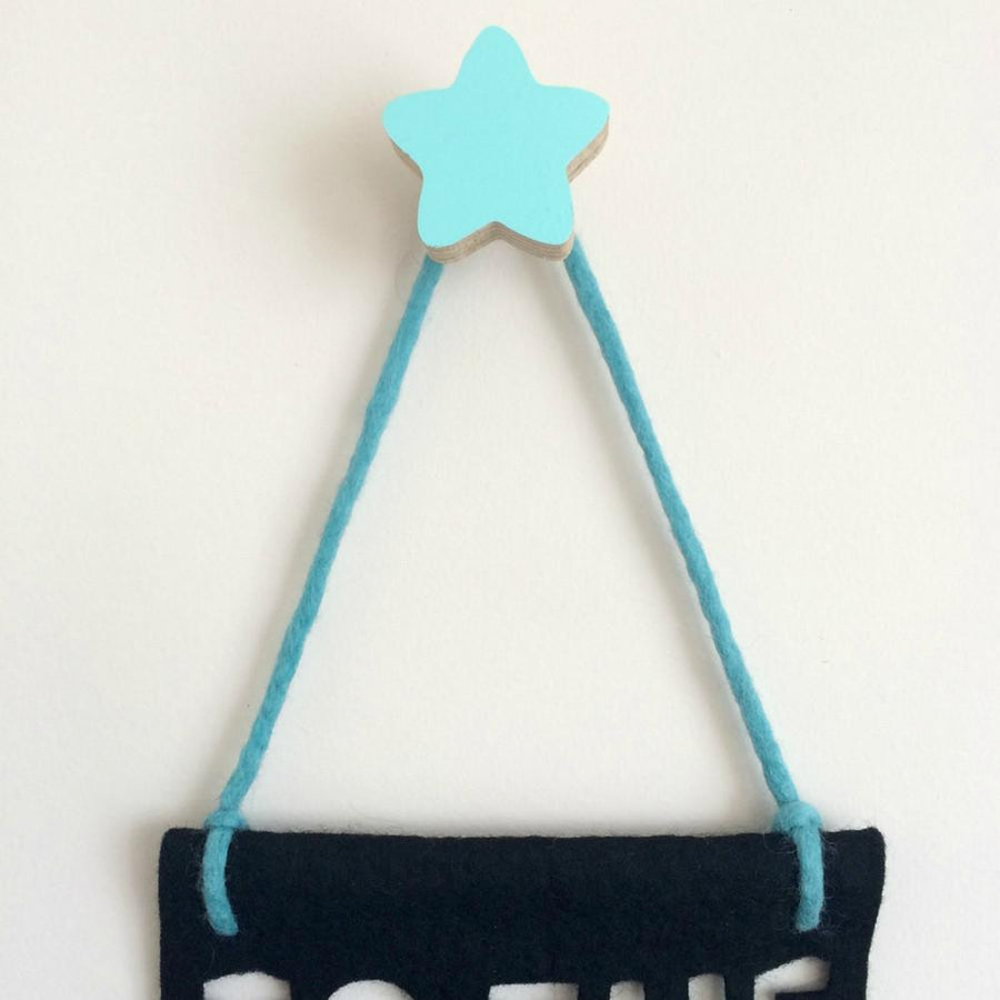 Star Wall Hook - Mint