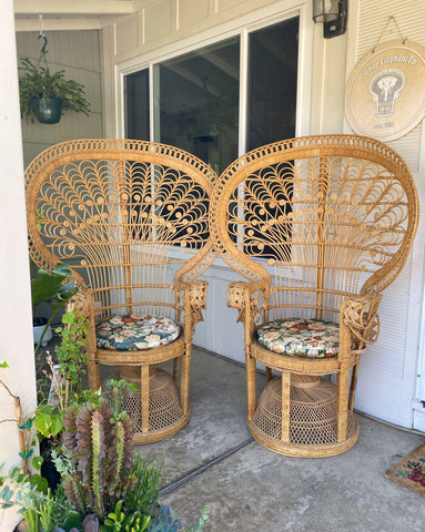 The Twins Peacock Chairs