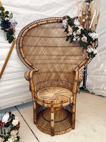 Chi's Classic Peacock Chair