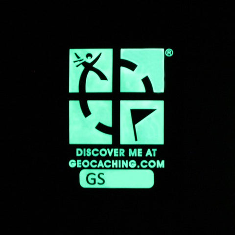 Logo Géocaching «glow in the dark»