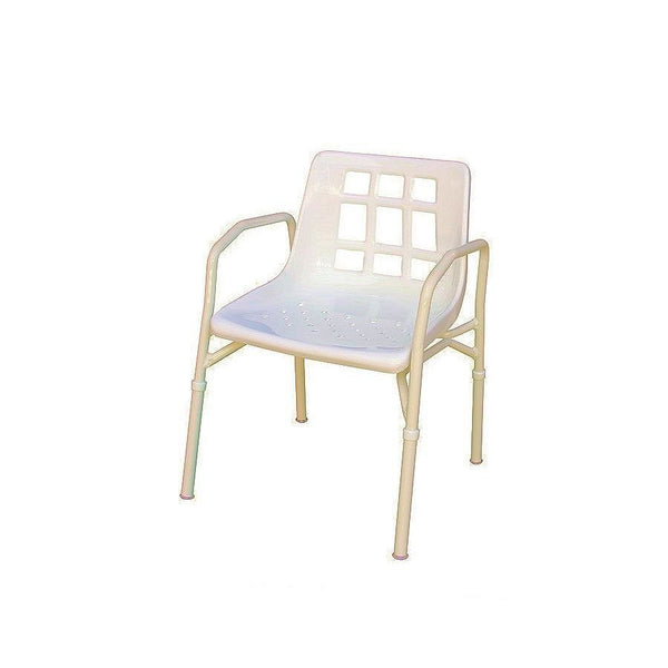 shower chair with arms two variations