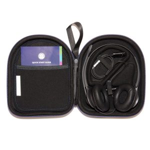 open hygienic carry case for blue response headsets